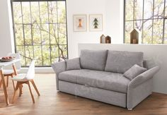 Rozkládací pohovka Luca Guest Room, Love Seat, Modern, Couch, Interior Design, Furniture, Lifestyle Magazin, Home Decor, Products