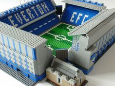 See amazing Lego versions of Anfield, Highbury, Goodison Park and more Premier League grounds Soccer Stadium, Football Stadiums, Soccer Skills, Soccer Tips, Soccer Match, Play Soccer, Lego Sports, Goodison Park, Everton Fc