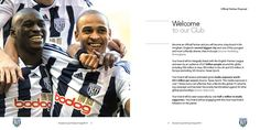 We recently designed this Partnership Proposal brochure for West Bromwich Albion