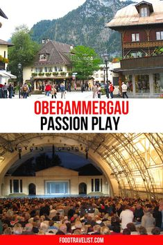 Since it only happens every ten years, travel planning for the Oberammergau Passion Play in Germany requires an early start. Visit this unique Bavarian town and watch the Passion Play performed by the towns people just has it has been done for decades.  #OberammergauPassionPlay #GermanTravels