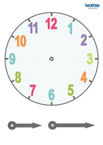 Leverage Brother Creative Center's learning activities templates for Clock Face. Classroom Activities, Preschool Activities, Creative Activities, Family Activities, Clock Face Printable, Daily Schedule Kids, Clock Template, Clock Numbers, Diy Quiet Books