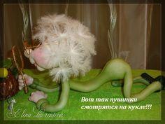 МК по изготовлению пушинок для кукол Одуван,цветка одуванчик и мушки от pawy (Е. Лаврентьева) . Обсуждение на LiveInternet - Российский Сервис Онлайн-Дневников