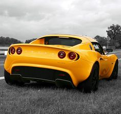 Yellow #Lotus Elise takes a break! Hit the link to follow @eBay's 'Dream Cars' board for more of the very best #CarPorn on Pinterest! http://www.pinterest.com/ebay/dream-cars/ #spon