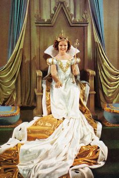Costume designed by Gwen Wakeling for Shirley Temple in The Little Princess (1939) From Theriault's