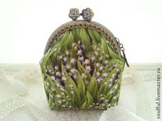 livemaster purse with Lily of the Valley