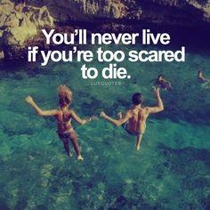Are you scared to die? #TuesdayMotivation #quotes #qotd #quoteoftheday #motivation #inspiration #lifehacks #lifegoals #goals