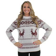 Naughty Reindeer Sweater