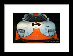 1967 Mirage Ford M1 Dsc2516 Framed Print by Wingsdomain Art and Photography  wingsdomain transportation car cars automobile automobiles auto autos 1967 mirage ford m1 1967 mirage ford m1 1967 ford lemans le mans le man leman racecar racecars