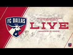 Gina Miller's Blog: Join Me For The Next Episode Of FC Dallas Live