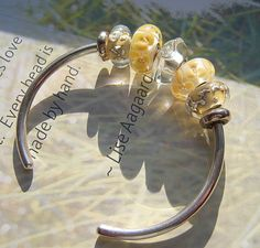 A LABOR OF LOVE-A beautiful photo from a great collector on Trollbeads Gallery Forum. Thank you Lori!