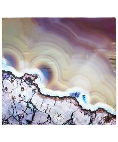 Lilac Agate Print Silk Scarf, Weston Scarves.