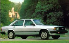 silver 1982 Audi 5000 Turbo