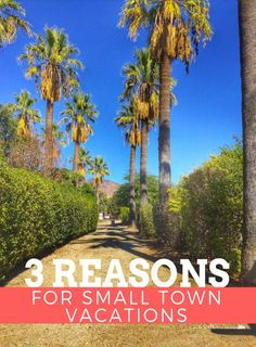 Don't sleep on vacationing in a small town. Sometimes, those are the best vacation spots EVER! Read Why A Small Town Vacation Should Be On Your Bucket List this year. And why you should visit a small town called Hemet in California.