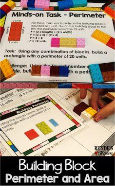 Building Perimeter and Area - Exploring Perimeter and Area through Hands-On Fun!