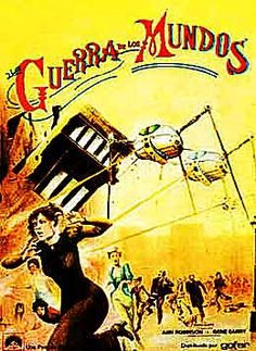 the war of the worlds title page from amazing stories by war of the worlds french movie poster