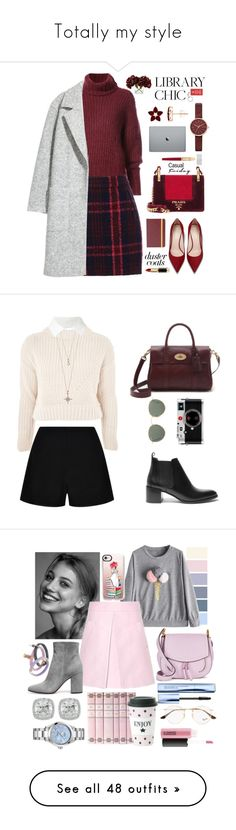 """Totally my style"" by hlynb93 ❤ liked on Polyvore featuring BY. Bonnie Young, Oasis, Prada, Skagen, L'Oréal Paris, Frontgate, Cartier, Topshop, Everlane and Reiss"