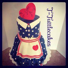 I Love Lucy!  Cake