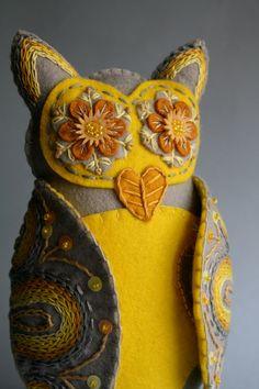 Owl Soft Sculpture