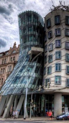 The Dancing House, Prague, Czech Republic