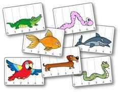 Battle of lengths: animals Preschool Zoo Theme, Preschool Math, Math Classroom, Kindergarten Math, Early Years Maths, Animal Articles, Fun Facts About Animals, English Worksheets For Kids, Math Work