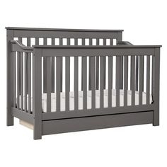 Davinci Piedmont 4-in-1 Convertible Crib With Toddler Rail - Espresso