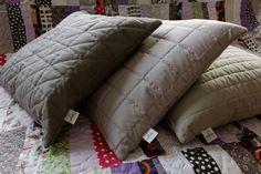 Kissen - Poduszki/poszewki na poduszki pikowane - ein Designerstück von dom-artystyczny bei DaWanda