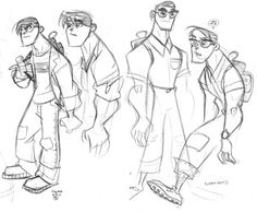Category: Ben Caldwell - Character Design Page