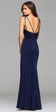 Faviana 7755 Satin Prom Dress