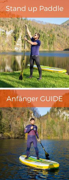 Stand Up Paddling Guide - SUP for beginners- Stand Up Paddling Guide – SUP für Anfänger Here you will learn everything about stand up paddling, information on board, paddles and tips and tricks for SUP accessories - Sup Boards, Best Paddle Boards, Stand Up Paddle Board, Kayak Camping, Fitness Workouts, Sup Accessories, Inflatable Paddle Board, Sup Yoga, Sup Surf