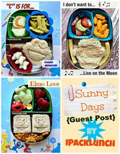 Toddler healthy preschool bento lunch ideas - guest post by iPackLunch in @LunchBots containers