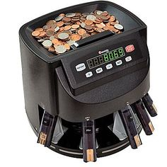 Cassida Coin Sorter Counter and Roller Paper Coin Wrappers Money Safe Box, Money Counter, Digital Coin, Counting Coins, Roller, Point Of Sale, Change, Us Coins, Things To Buy