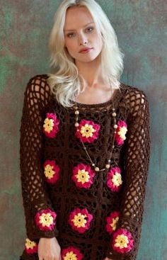 Flower Child Crochet Pattern - this is so mine!  ~Donna