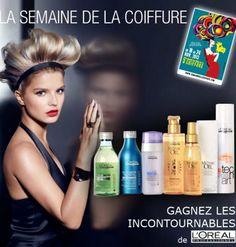 jeu L'Oréal Professionnel la semaine de la coiffure