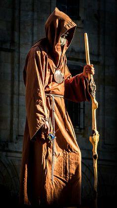The Monk -Street Performer- Santiago de Compostela
