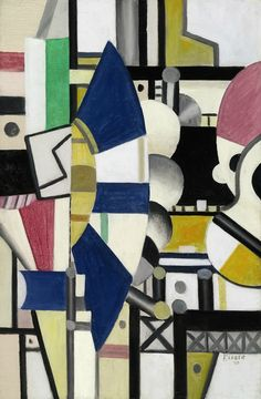 Fernand Léger, '' La Roue Bleue '' état définitif, c. 1920 Fernand Léger's was among the first of many works by the artist to enter the Stone collection (est. $8/12 million). Painted in the immediate post-war period of the 1920s, La Roue Bleue, état définitif is a gleaming symbol of technological progress in a time of rapid industrialization.