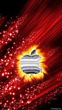 Fire Apple 640 x 1136 Wallpapers available for free download. Apple Iphone Wallpaper Hd, Ipad Mini Wallpaper, Mobile Wallpaper, Iphone Wallpapers, Black Background Wallpaper, Black Backgrounds, Apple Icon, Apple Decorations, Live Wallpapers