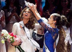 Miss Universe 2013 Maria Gabriela Isler from Venezuela, Crowning Moment.