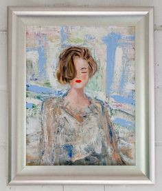 Paintings In Abstract Mid Century Impressionism Styles