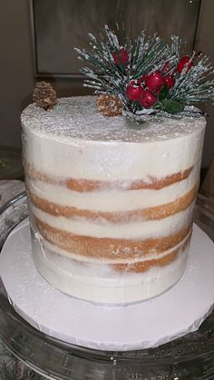 Christmas winter wonderland Christmas Cupcakes, Vanilla Cake, Winter Wonderland, Tiramisu, Ethnic Recipes, Desserts, Food, Christmas Biscuits, Tailgate Desserts