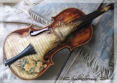Beautifully done violin...