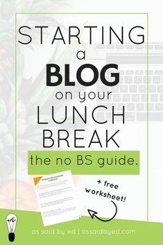 blogging tips, website tips, start a blog, start a website, tutorial, wordpress, build a website, business tips, entrepreneur tips