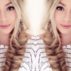 Pretty Little Beauty Blog: How To | Super Easy Faux Fishtail Braid #coniefox