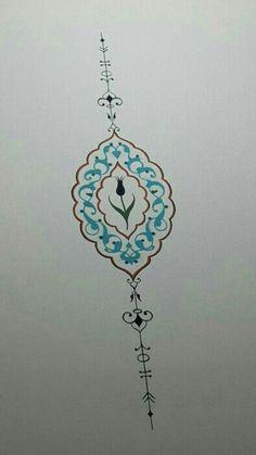 Ikat Pattern, Pattern Art, Pottery Patterns, Hand Tattoo, Islamic Art Pattern, Arabesque Pattern, Turkish Art, Islamic Art Calligraphy, Ornaments Design