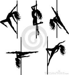 Pole Dancing Silhouette Stock Photos, Images, & Pictures - 338 Images