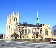The Cathedral of the Most Blessed Sacrament - in Downtown Detroit - Wedding Ceremony choice #1
