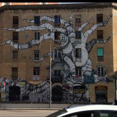 Street art in Barcelona, Spain