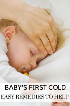 5 easy tips for getting through your baby's first cold