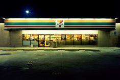 Nice series - Glowing Night Photos of 24 Hour Convenience Stores by Harlan Erskine