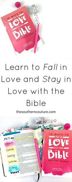 Bible study should never feel like a chore or another item on our to-do list. Learn to fall in love and stay in love with the Bible.
