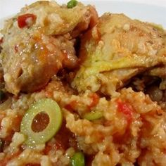 """Arroz Con Pollo 